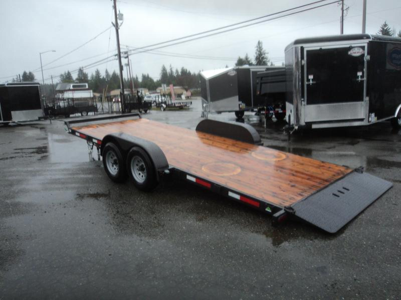 2021 Summit Cascade 7X18 10K Tiltbed Trailer