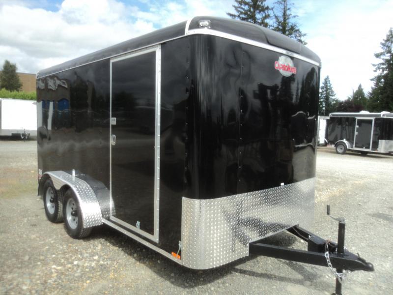 2021 Cargo Mate Blazer 7X12 7K With Rear Cargo Doors