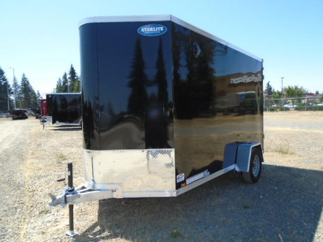 """2022 Pace American Everlite 6x12 With 12"""" Extra Height / Screwless Exterior / Cargo Doors"""