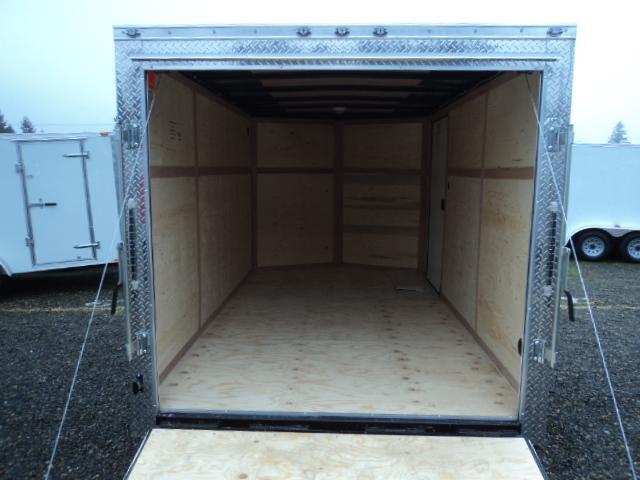 "2021 Cargo Mate E-Series 7x14 7K With 6"" Extra Height / Wedge / Ramp Door"