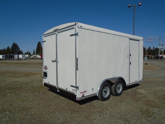 "2021 Cargo Mate Blazer 8.5x14 7K With Cargo Doors / 6"" Extra Height / Vent"