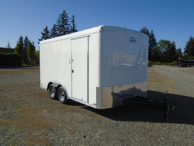 "2021 Cargo Mate Blazer 8.5x14 7K With Cargo Doors / 6"" Extra Height / Vent"