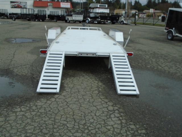 2022 Aluma 14k 7x20 Super Heavy Tandem Aluminum Trailer