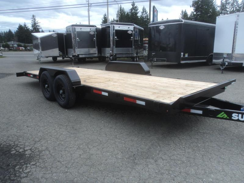 2021 Summit Cascade 7x20 14K Tiltbed Equipment Trailer