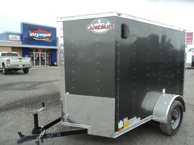 2021 Cargo Mate 5x8 E-series with Extra Height