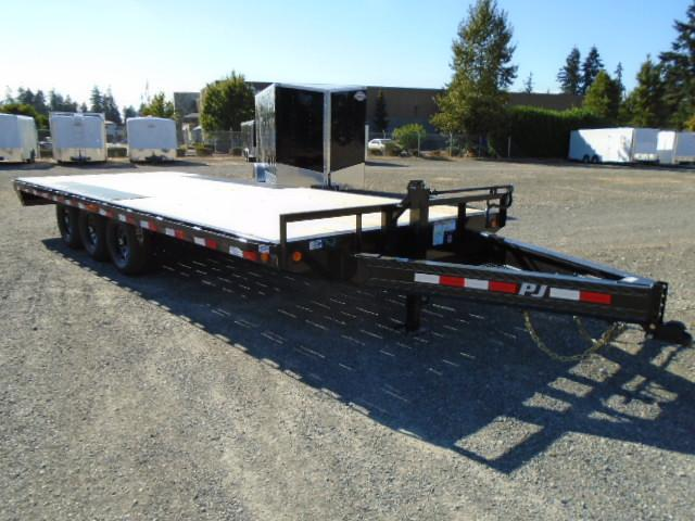 2021 PJ Trailer 8.5X22 21K Deckover w/Slide in Ramps