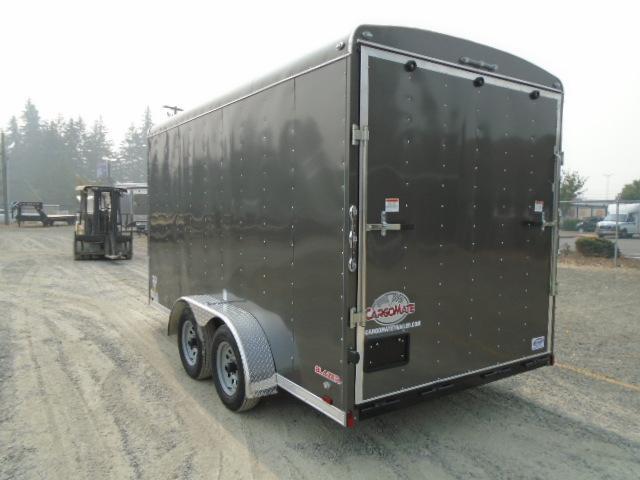 """2021 Cargo Mate Blazer 7x14 7K With 6"""" Extra Height / Ramp Door"""