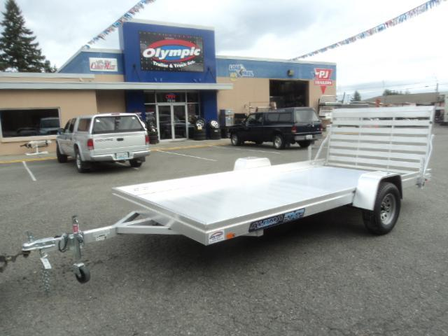 2021 Aluma 7814 Edge Series Utility Trailer