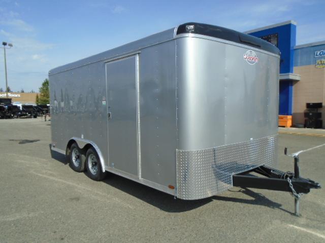 2021 Cargo Mate Blazer 8.5x16 7K w/Rear Ramp door