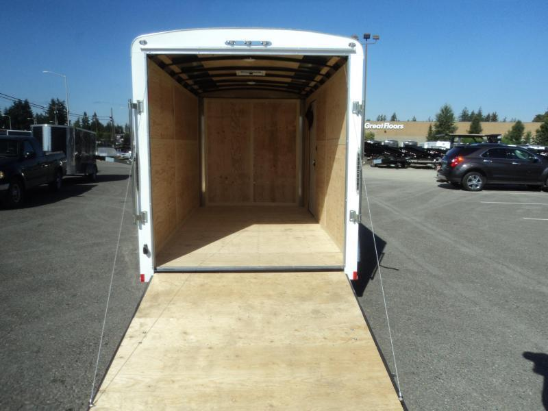 2021 Cargo Mate Blazer 6X12 7K w/Rear Ramp Door