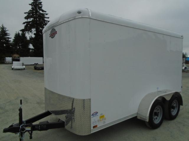 2021 Cargo Mate Blazer 6X12 7K w/Rear Ramp Door