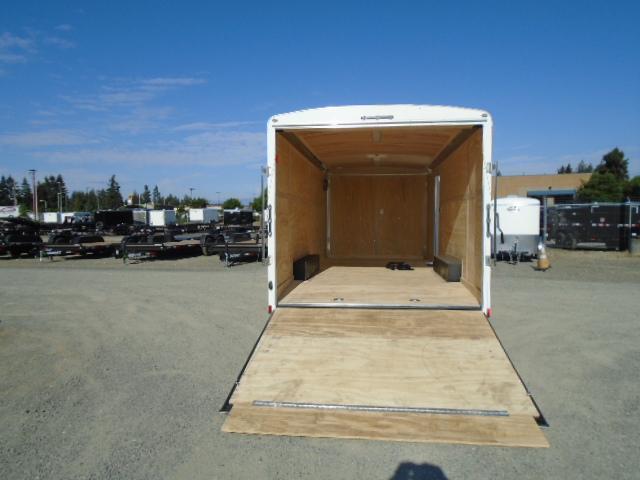 "2021 Cargo Mate Blazer 8.5x20 7K With 6"" Extra Height / Ceiling Liner / D-Rings / 110V Pkg / Beavertail / Ramp Door"