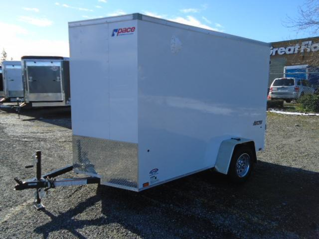 "2022 Pace American Journey Cargo 6X10 W/6"" Extra Height and Ramp Door"
