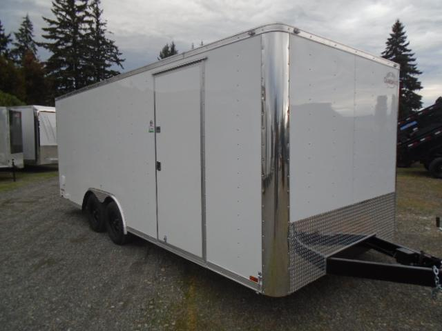 2021 Cargo Mate E-series 8.5x20 7K With Finished Interior / 110v Pkg / Ramp Door