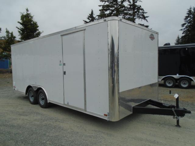 2021 Cargo Mate E-series 8.5x20 7K w/Finished interior/110v Package/Extra Height++