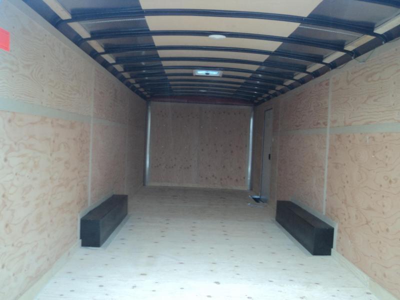 2021 Cargo Mate Blazer 8.5x24 7K With D-Rings / Ramp Door