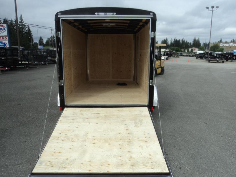 2021 Cargo Mate Blazer 7x12 7K With Ramp Door