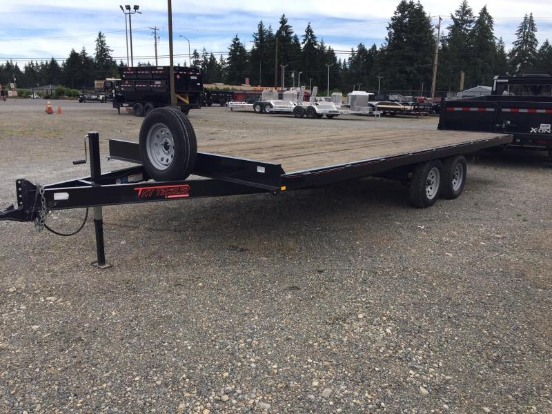 2017 Mirage Trailers DOLT20TA2 Equipment Trailer
