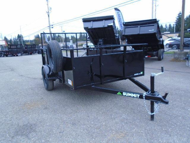 2022 Summit Alpine 6X10 Utility Trailer With Spare Tire & Mount