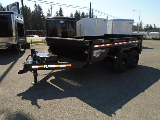 2021 PJ 7x12 14K Dump with 10K Jack/Tarp Kit