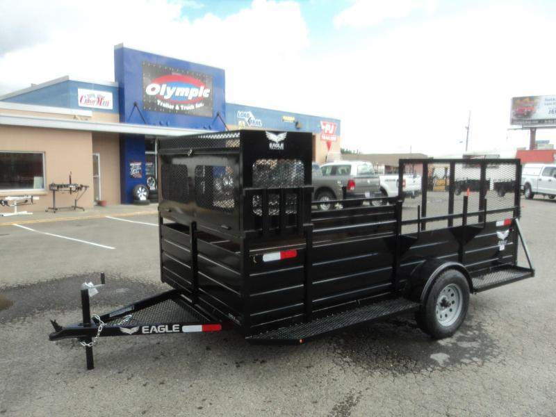 2021 Eagle 6X12 Utility Trailer w/Landscape Package Utility Trailer