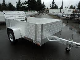 "2021 Aluma 548LW Utility Trailer with 24"" Solid Sides"