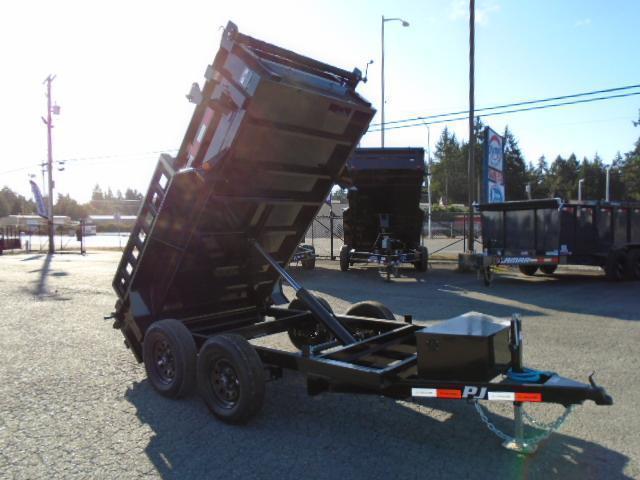 2022 PJ Trailers 5x10 7K w/Tarp Kit & Ramps Dump Trailer