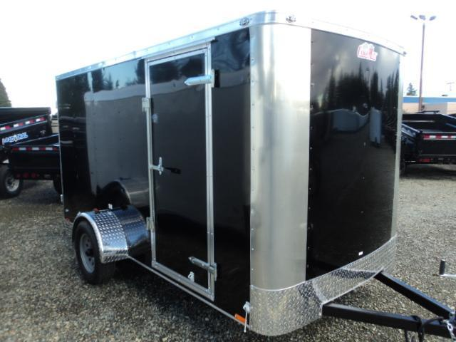 2021 Cargo Mate Challenger 6x12 w/Rear Ramp Door Enclosed Cargo Trailer