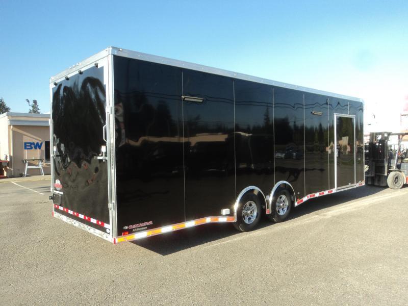 2021 Cargo Mate Aluminum 8.5x28 12K Race Trailer