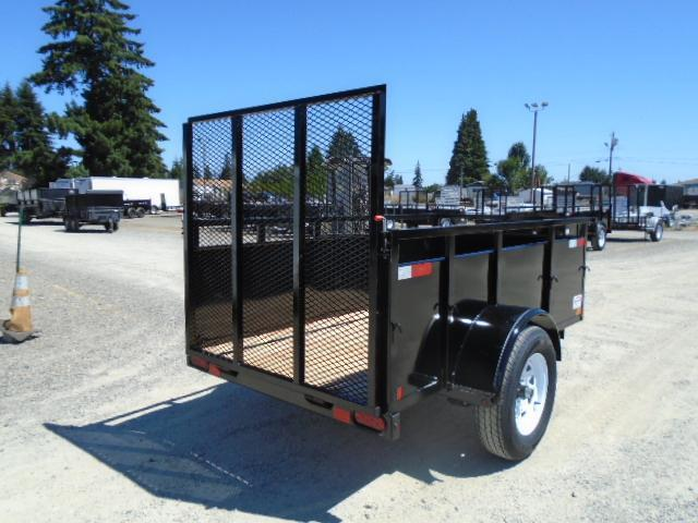 2021 Eagle Falcon 4x8 With Swing Jack/D-rings