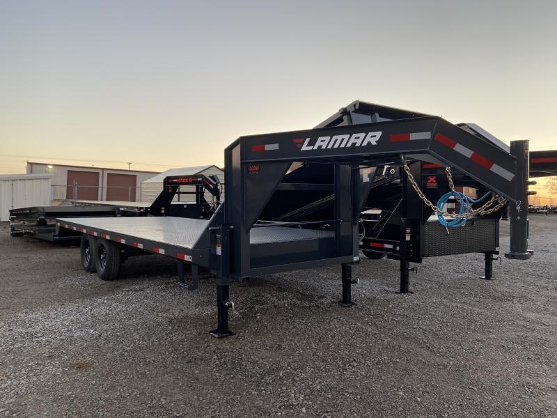 2021 Lamar Trailers F80220 Flatbed Trailer