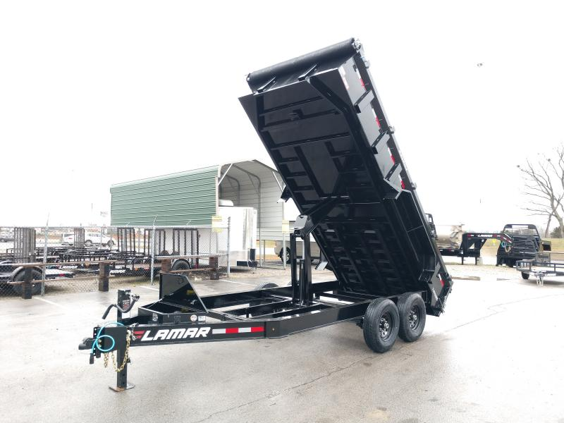 83X16 Lamar Trailers Low-Pro Dump (DL) 14K