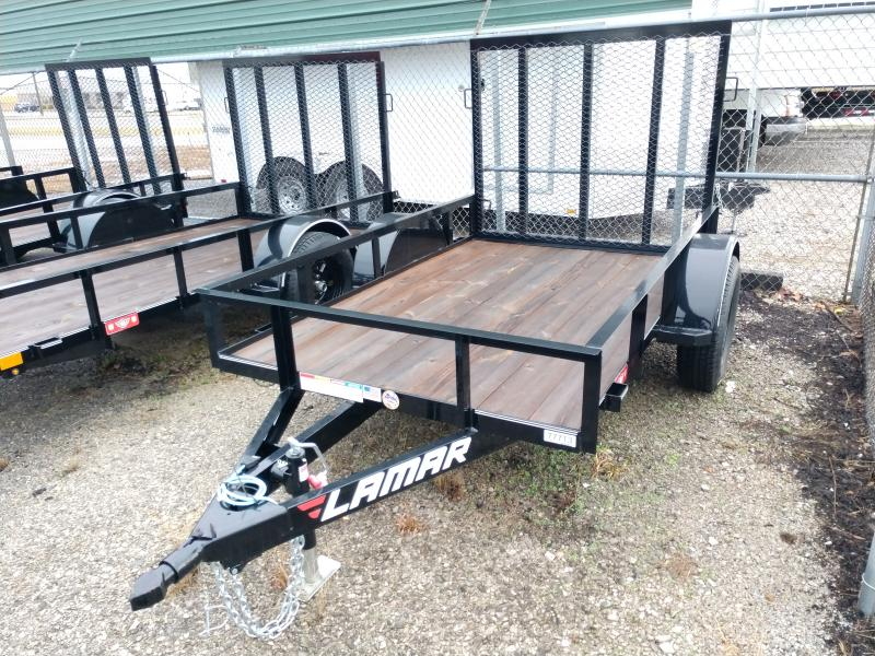 2019 Lamar 60x8 Single Axle Utility Trailer
