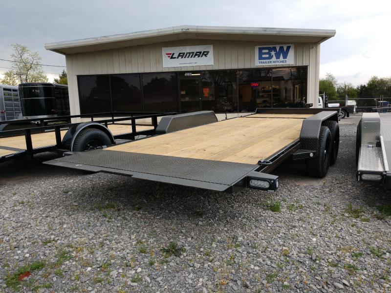 83x20 Gravity Tilt Equipment Trailer