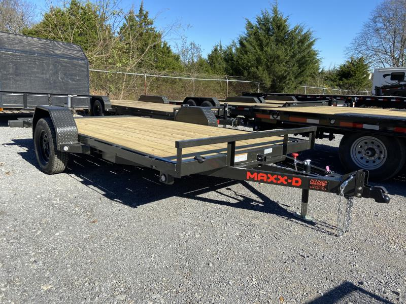 2021 MAXXD G3X8314 Equipment Trailer