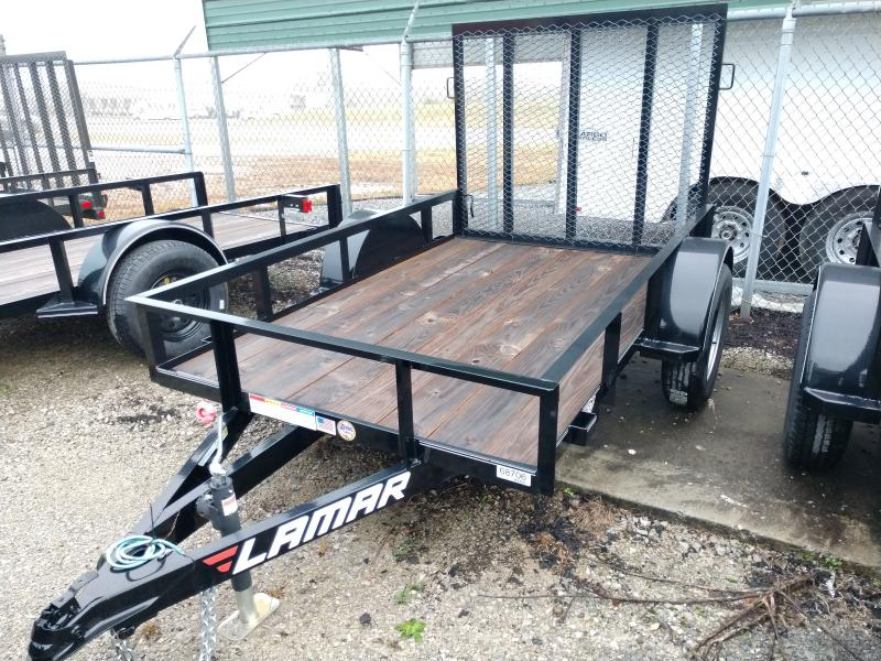 2018 Lamar 60x8 Single Axle Utility Trailer