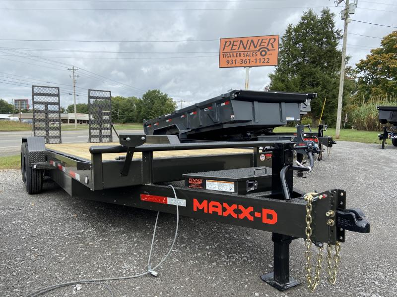 2021 MAXXD C8X8320 Equipment Trailer