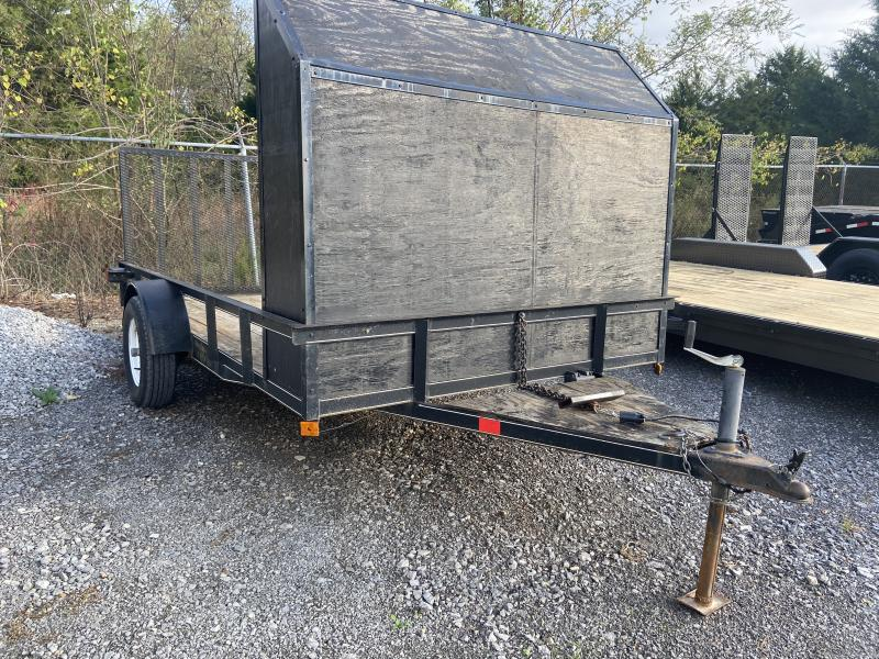 "2008 USED 82"" X 12' Utility Trailer"