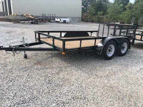 2015 P and T Trailers 83x14used Utility Trailer