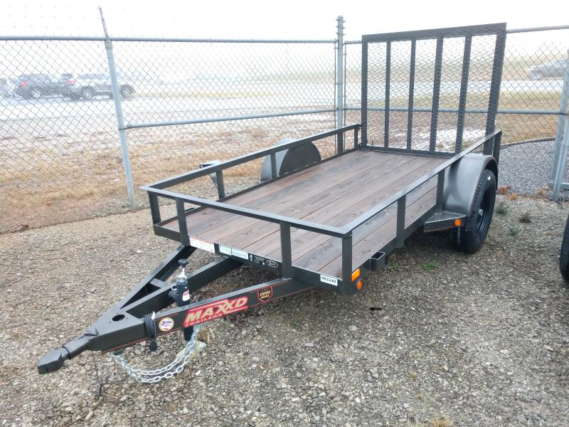 2019 MAXXD 61x10 Single Axle Utility Trailer