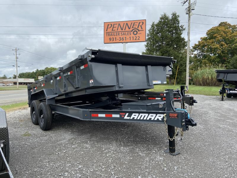 2021 Lamar Trailers DL8316 Dump Trailer
