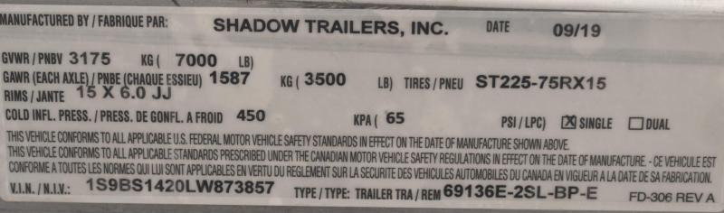 2020 Shadow Pro Series 69136E-2SL-BP-E