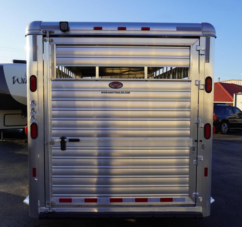 2020 Hart Trailers Lariat 24' Gooseneck Livestock Trailer