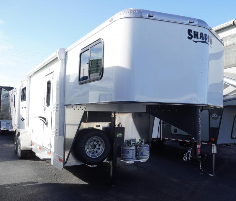 2020 Shadow Trailers 69186S-2SL-GN-LQ Horse Trailer
