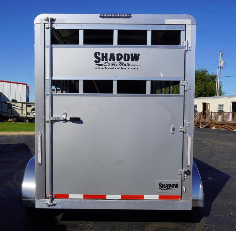2020 Shadow Trailers 64136STK-2SLBP Horse Trailer