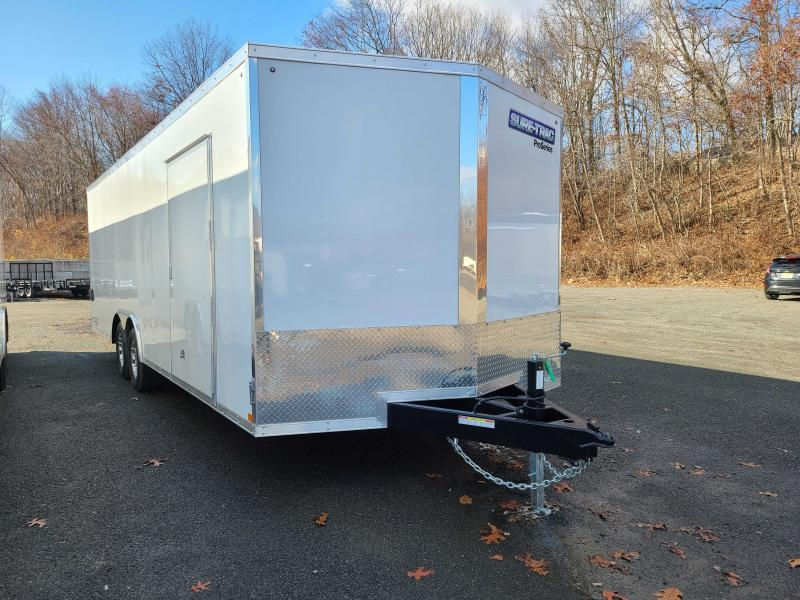 2021 Sure-Trac 8.5x24 10K Pro Series Wedge Front Car Hauler