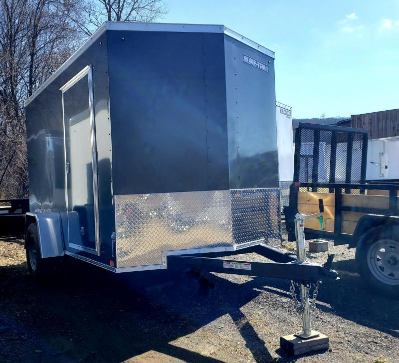 2021 Sure-Trac 6x10 ST Series Wedge Front Enclosed Cargo Trailer