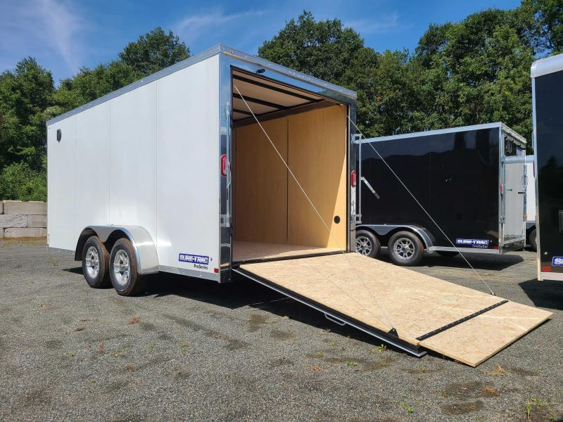 2021 Sure-Trac 7x16 Enclosed PRO SERIES WEDGE Cargo Trailer