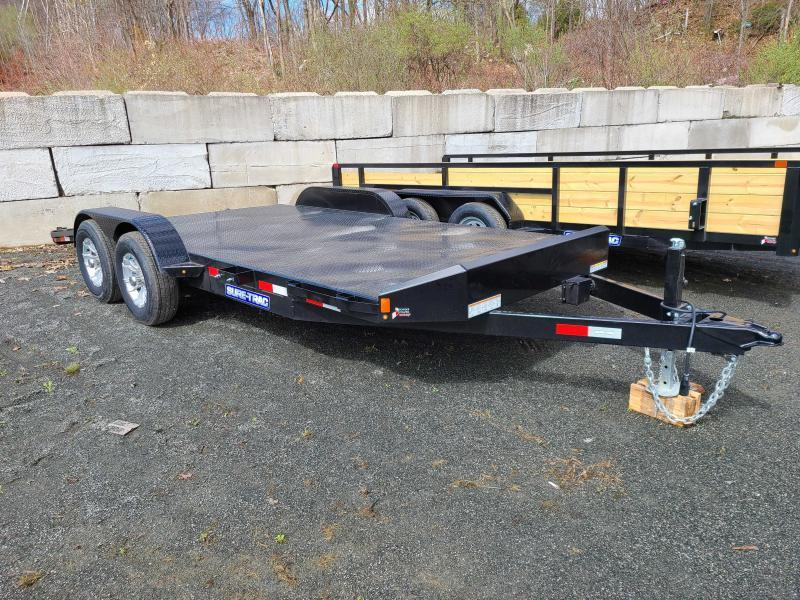 2021 Sure-Trac 7x18 10K Steel Deck Car Trailer