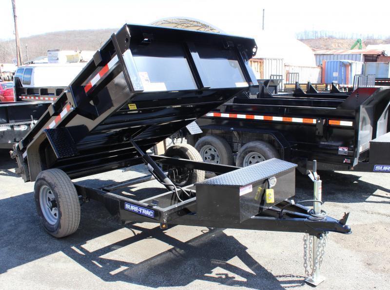2021 Sure-Trac 5x8 5K Homeowner Dump Trailer